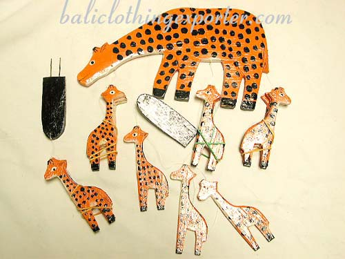Wooden gifts, carved figurines, african animal collectibles, home decor, bali crafts