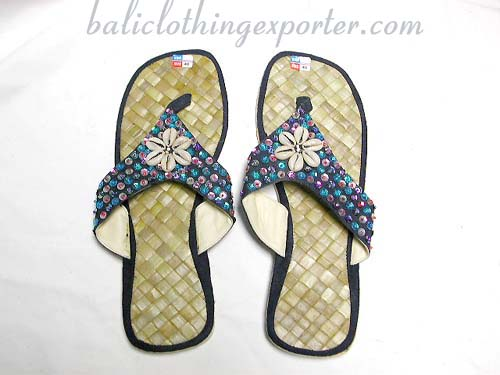 Beach summer foot wear, indonesian sandals, womens fashion shoes, high style flip flop