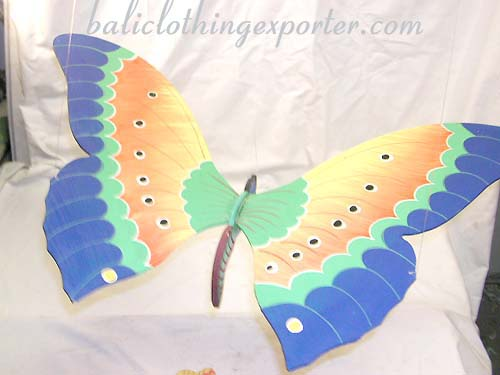 Butterfly designs, designer inspired gift, interior figurine, garden decor, crafted carvings, painted decorations