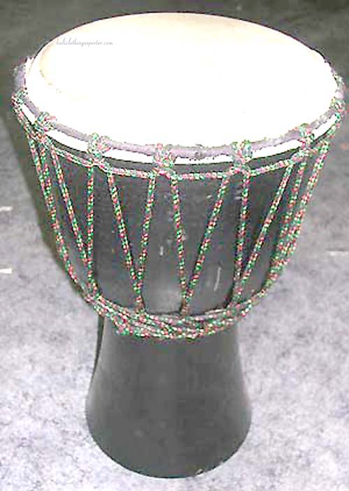 Musical exotic percussion, decorative music craft instrument, african drums, bali decor