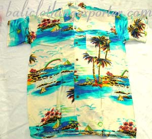 Vacation clothing, resort wear, beach shirts, Hawaiian fashions, summer short sleeeved shirt