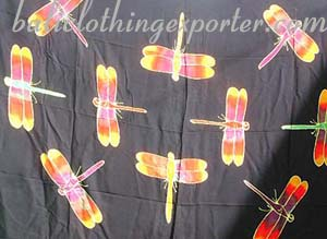 Dragonfly sarong, rainbow colored sarongs, unisex beach wear, beach clothing, swimsuit accessory, bali fashions