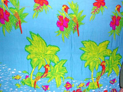 tropical sarong, unisex clothing, aloha fashions, batik apparel, summer accessories