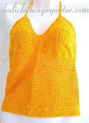 Bali fashions, ladies club wear, ports apparel, beach clothing, casual wear. crochet top, tank top