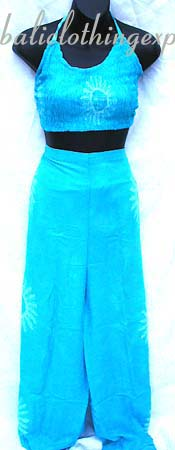 Designer fashion clothing, island apparel, tropical vacation clothing, bali wrap pant, summer beach sets, cruise wear