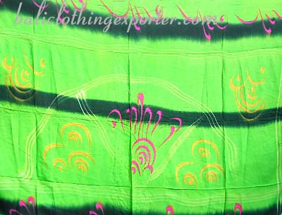 CArt designed wear, beach fashions, bali wraps, batik shawl, womens summer wear, beach accessory