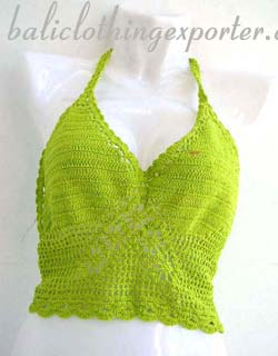 Crafted embroidery shirt, womens halter top, tankini, summer fashions, crochet bra, club wear