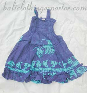 Summer fashion dress, cute tropical apparel, girls spring wear, childrens costume clothing