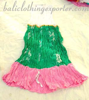 Crinkle skirt, ladies long skirt, summer apparel, balinese fashion, indonesian style clothing