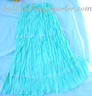 Crafted fabric fashions, womens summer skirts, balinese skirt, beach wear, ladies crinkle clothing