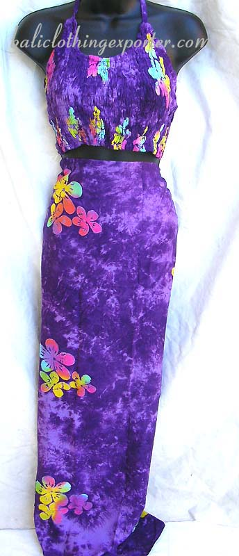 Fashion Supplier Apparel Sarong Announces The New: Indonesian Style Sarong Set, Womens Fashion Supplier