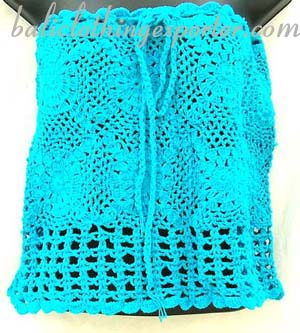 Designer crochet fashions, ladies knitted beach apparel, island club wear, sexy leisure wear, sexy bali clothing