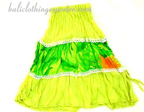 Hawaii style skirt, party wear skirts, girls bali fashions, summer apparel, childrens resort clothing, fancy dress wear