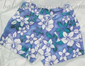 Bali short, ocean pants, summer clothing, man apparel, resort wear, hawaiian board shorts