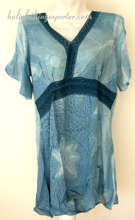 Caribbean fashion shirt, lacy style shirt tops, handcrafted leisure apparel, bali bali summer clothing, club wear